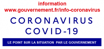 Information COVID-19 - GOUVERNEMENT
